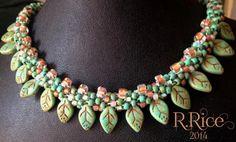 beaded petal fringe by Rhonda Rice