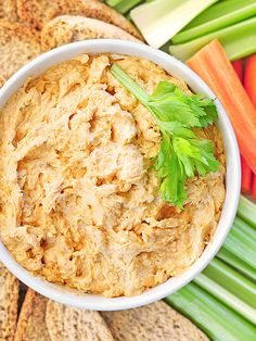 Buffalo Chicken Dip Recipe is the perfect addition to your Super Bowl party. EASY too!