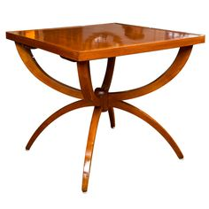 1stdibs | Striking Art Moderne Table/ Three Tables in One