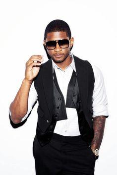 Usher, baby. my biggest celeb crush! LOL