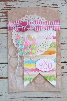 Mish Mash: Spring Packaging...  Would make cute cards, too.  Look at the other variations on site