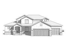 Aurora Vista - Traditional style house plan - Walker Home Design