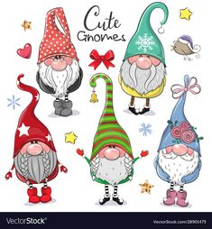 Find Set Cute Cartoon Gnomes Isolated On stock images in HD and millions of other royalty-free stock photos, illustrations and vectors in the Shutterstock collection. Thousands of new, high-quality pictures added every day. Christmas Rock, Christmas Gnome, Christmas Projects, Christmas Ornaments, Embroidery Patterns Free, Cross Stitch Patterns, Happy Paintings, Christmas Paintings, Rock Crafts