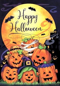 Halloween Owl, Halloween Painting, Holidays Halloween, Vintage Halloween, Halloween Pumpkins, Halloween Decorations, Halloween Ideas, 1960s Halloween, Halloween Plates