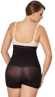 263b7d50cf Shapewear Women Plus Shaper Thermal High Panty Body Shaper Faja 3XLBlack     You can get more details by clicking on the image. (Note Amazon affiliate  link)