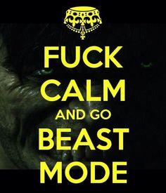 Go #BeastMode!