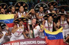Venezuela Campeón del Torneo de Baloncesto Preolimpico de Las Américas  México 2015.