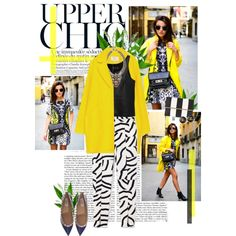 Upper Chic, created by ilianavilla on Polyvore