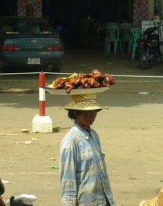 Cambodia. Chicken