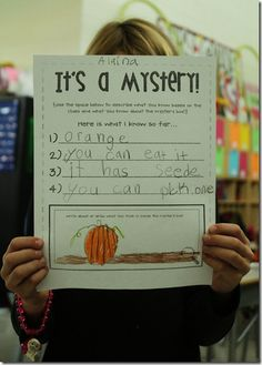 Inference lesson. Just need to come up with an item for the mystery box.