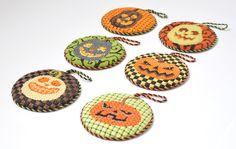 Halloween needlepoint pieces!