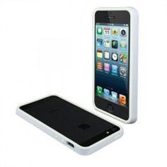 Funda Bumper iPhone 5 Muvit iBelt Blanca