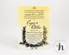 "Invitatii nunta vintage – ""PETRA"" Petra, Drinks, Model, Vintage, Design, Drinking, Beverages, Scale Model"