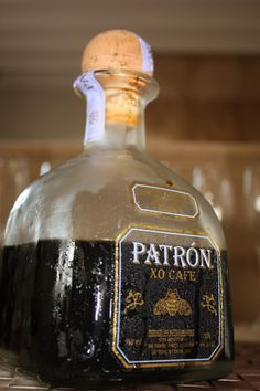 Patron on ice Patron Xo Cafe, New Recipes, Vodka Bottle, Tuesday, Ice, Adventure, Drinks, Creative, Shopping