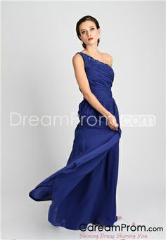 Gorgeous A-Line One-Shoulder Beadings Empire Kate's Prom Dresses Short Mothers Dress, Mothers Dresses, Cheap Prom Dresses, Blue Dresses, Formal Dresses, Dress Prom, Quinceanera Dama Dresses, Maternity Bridesmaid Dresses, Special Occasion Dresses