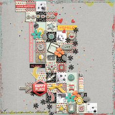 Social Addiction Bundle - Storyteller February 2017 Add-on by Just Jaimee & Studio Basic Designs My Faves Templates 2 by Scrapping with Liz