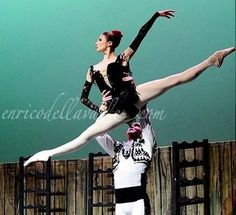 "<<Svetlana Zakharova in ""Carmen Suite"" at Teatro Auditorium Manzoni (Bolonia) 2014 # Photo © Enrico Della Valle>>"