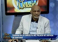 Nelson Javier habla del alboroto en la carcelita del palacio de justicia de Santiago