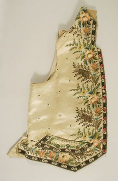 Waistcoat | probably French | The Met