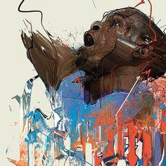 Red Sweat by StudioKxx Krzysztof Domaradzki, via Behance