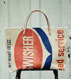 Swisher Feedsack Tote | Women's Bags & Accessories | Hawks and Doves | Scoutmob Shoppe | Product Detail