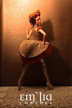 Kleptomaniac - OOAK for Numina Devon, via Flickr.