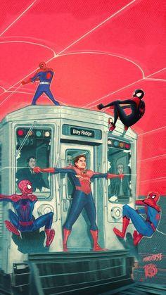 All Spiderman, Comics Spiderman, Spiderman Pictures, Amazing Spiderman, Marvel Comics, Marvel Art, Marvel Heroes, Marvel Characters, Marvel Avengers