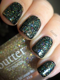 Butter London Tart with a Heart over Butter London Black Knight. have both...must try this combo soon!!