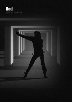 Michael Jackson Minimalist Posters – The Roosevelts