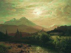 The Athenaeum - Alpine Landscape (Lev Lagorio - )
