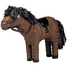 Horse Pinatas | Our Price: $11.99 http://www.discountpartysupplies.com/girl-party-supplies/brave-party-supplies/horse-pinatas.html