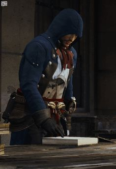 Assassins Creed Series, Assassins Creed Unity, Assassian Creed, Cry Of Fear, Arno Dorian, Medieval Fantasy, Popular Culture, Video Games, Videogame Art