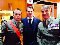 Great new pic from the #iofawards shared by the @RM1664Challenge along w/message http://bit.ly/1S3nHjf #HenryCavill