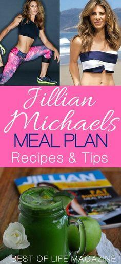 Jillian Michaels Meal Plan Recipes and Resources via @AmyBarseghian