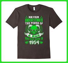 Mens Born In 1954 T-Shirt. 63rd Birthday Ideas for Men. Best Gift 3XL Asphalt - Birthday shirts (*Amazon Partner-Link)