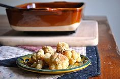 Little B Cooks:  Chronicles from a Vermont foodie: Roasted Cauliflower