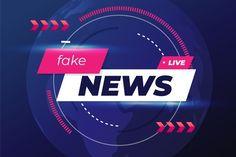 Fake news live over curvy violet background | Free Vector Red And Black Background, Violet Background, Map Background, Fake News Headlines, Live Tv Show, Flat Logo, Important News, New Backgrounds, People Illustration