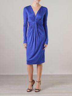 Vestido Diane von Furstenberg DVF blue Via Flores