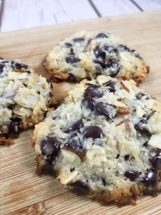 Low Carb, Sugar Free, THM-S Almond Joy Cookies