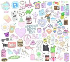 unicorns collage - Buscar con Google