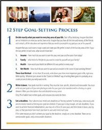 12 Step Goal Setting Process Report. Download the free report here: http://www.briantracy.com/files/pages/goals/?cmpid=2269=1631