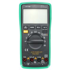 HY-19B Digital True RMS Auto Range 5999 Counts Multimeter AC DC Voltage Current Frequency Resistance 6000UF Capacitance LED Diode Duty Cycle Tester