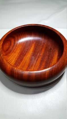 Handmade Padauk Woodturned bowl