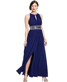 R&M Richards Sleeveless Beaded Evening Gown  my favorite and a good price too!!!