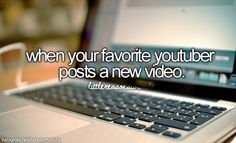 I have like 30 favorite youtubers soo <-- i have so many favorite youtubers... i'm obsessed