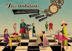 """Jocs Ambulants"" on Behance"