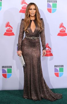 J.Lo at the 2010 Latin Grammys - 10 Best Dressed Stars in Latin Grammy History!