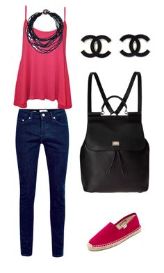 Untitled #5 by marce-castaneda on Polyvore featuring polyvore, fashion, style, WearAll, Soludos and Dolce&Gabbana