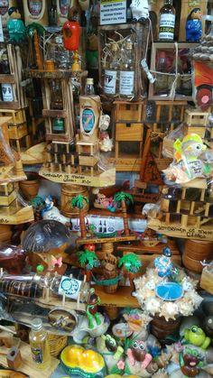 Mais artesanato no mercado municipal de Montes Claros