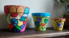 . Painted Flower Pots, Painted Pots, Painted Signs, Cactus Clipart, Pottery Painting, Clay Pots, Decor Crafts, Projects To Try, Arts And Crafts